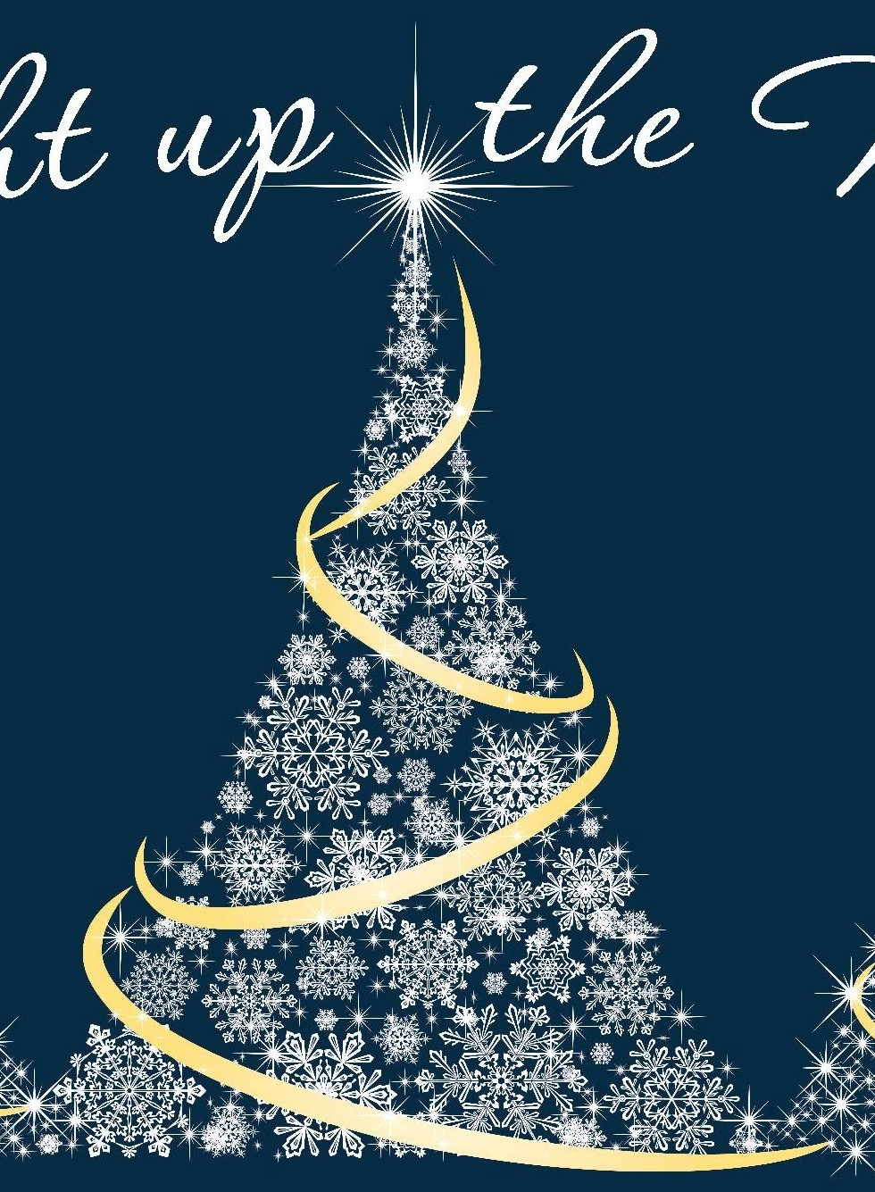 Holiday Tree Graphic